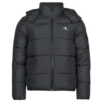 Ruhák Férfi Steppelt kabátok Calvin Klein Jeans ESSENTIALS NON DOWN JACKET Fekete