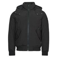 Ruhák Férfi Parka kabátok Calvin Klein Jeans SHERPA LINED SHORT JACKET Fekete