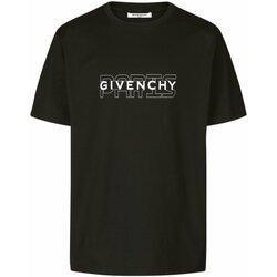 Ruhák Férfi Rövid ujjú pólók Givenchy BM70SS3002 Fekete