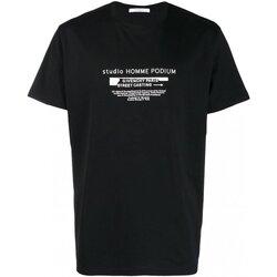 Ruhák Férfi Rövid ujjú pólók Givenchy BM70SC3002 Fekete