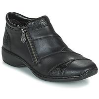 Cipők Női Csizmák Rieker SALOMA Tengerész