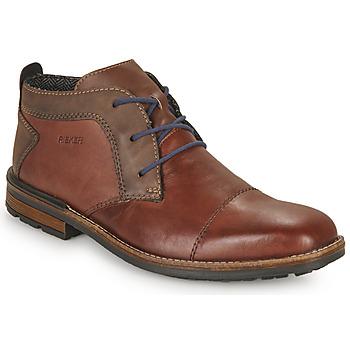 Cipők Férfi Oxford cipők Rieker FALINDA Barna