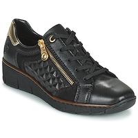 Cipők Női Rövid szárú edzőcipők Rieker THOMANISA Tengerész