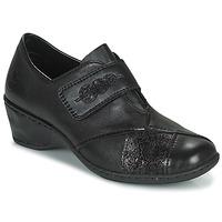 Cipők Női Mokkaszínek Rieker DEVENIRA Fekete