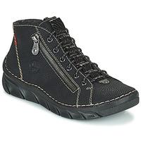 Cipők Női Csizmák Rieker MEMOIRA Fekete
