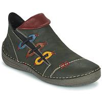Cipők Női Csizmák Rieker GIMMA Zöld / Piros / Citromsárga