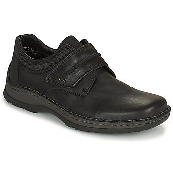Cipők Férfi Oxford cipők Rieker EARNA Fekete