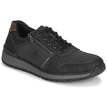 Cipők Férfi Oxford cipők Rieker FOLLON Fekete