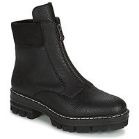 Cipők Női Csizmák Rieker QUAMIN Fekete