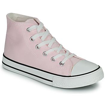 Cipők Lány Magas szárú edzőcipők Citrouille et Compagnie OFRIMOUSSE Levendula