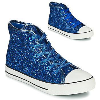 Cipők Lány Magas szárú edzőcipők Citrouille et Compagnie OUTIL Kék