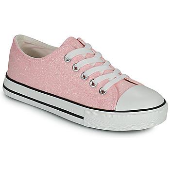 Cipők Lány Rövid szárú edzőcipők Citrouille et Compagnie OVANA Rózsaszín