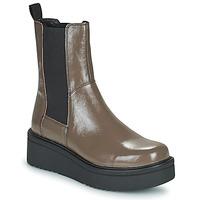 Cipők Női Csizmák Vagabond Shoemakers TARA Barna / Tiszta