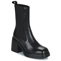Cipők Női Bokacsizmák Vagabond Shoemakers BROOKE Fekete