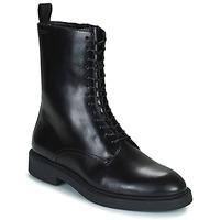 Cipők Női Csizmák Vagabond Shoemakers ALEX W Fekete