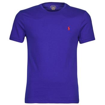 Ruhák Férfi Rövid ujjú pólók Polo Ralph Lauren SOPELA Kék