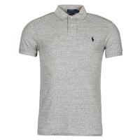 Ruhák Férfi Rövid ujjú galléros pólók Polo Ralph Lauren DOLINAR Szürke