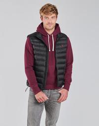 Ruhák Férfi Steppelt kabátok Polo Ralph Lauren PEROLINA Fekete