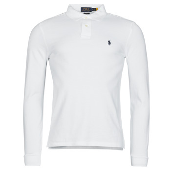 Ruhák Férfi Hosszú ujjú galléros pólók Polo Ralph Lauren TREKINA Fehér