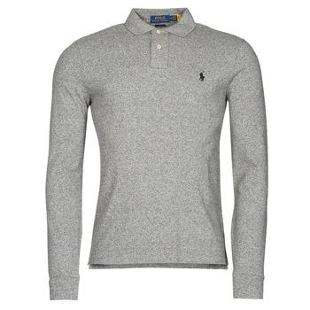 Ruhák Férfi Hosszú ujjú galléros pólók Polo Ralph Lauren TREKINA Szürke