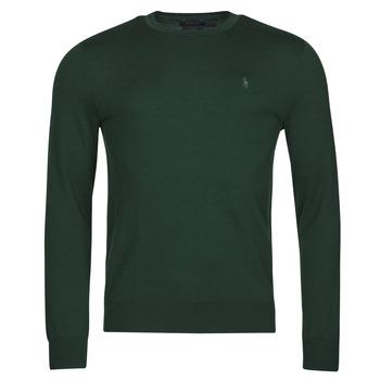 Ruhák Férfi Pulóverek Polo Ralph Lauren AMIRAL Zöld