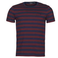 Ruhák Férfi Rövid ujjú pólók Polo Ralph Lauren POLINE Tengerész / Bordó