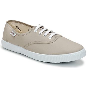 Cipők Rövid szárú edzőcipők Victoria INGLESA LONA Bézs