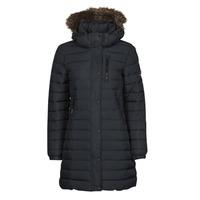 Ruhák Női Steppelt kabátok Superdry SUPER FUJI JACKET Kék