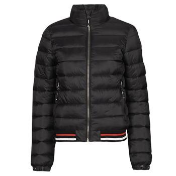 Ruhák Női Steppelt kabátok Superdry FUJI BOMBER Fekete