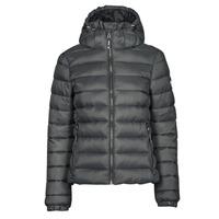 Ruhák Női Steppelt kabátok Superdry CLASSIC FUJI PUFFER JACKET Szürke