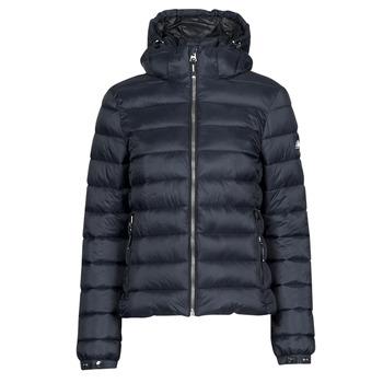 Ruhák Női Steppelt kabátok Superdry CLASSIC FUJI PUFFER JACKET Kék