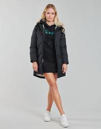 Ruhák Női Kabátok Roxy STORM WARNING Fekete