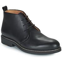 Cipők Férfi Oxford cipők Pellet MIRAGE Fekete