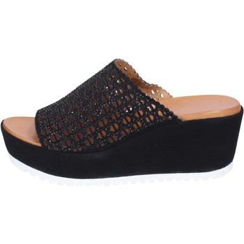 Cipők Női Papucsok Femme Plus Szandál BJ890 Fekete