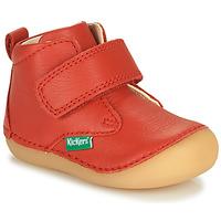 Cipők Gyerek Csizmák Kickers SABIO Piros