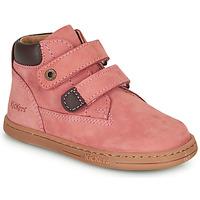 Cipők Lány Csizmák Kickers TACKEASY Rózsaszín