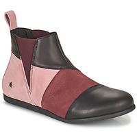 Cipők Női Csizmák Art LARISSA Lila / Fekete