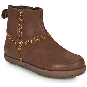 Cipők Női Csizmák Art RHODES Barna