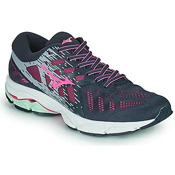 Cipők Női Futócipők Mizuno WAVE ULTIMA 11 Kék / Rózsaszín