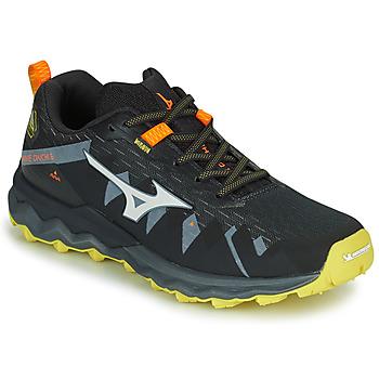 Cipők Férfi Futócipők Mizuno WAVE DAICHI 4 Fekete  / Narancssárga
