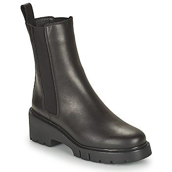 Cipők Női Csizmák Unisa JOSTO Fekete