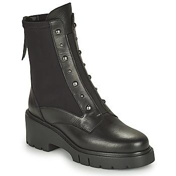 Cipők Női Csizmák Unisa JARBE Fekete