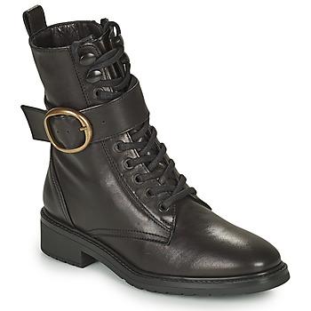 Cipők Női Csizmák Unisa EDECAN Fekete