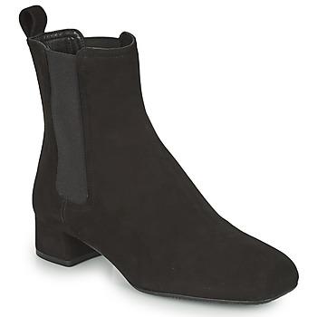Cipők Női Bokacsizmák Unisa GUSO Fekete