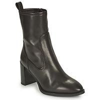 Cipők Női Bokacsizmák Unisa UNTIL Fekete
