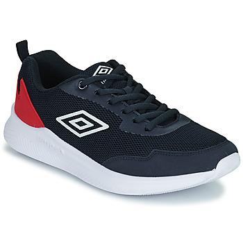 Cipők Gyerek Rövid szárú edzőcipők Umbro LAGO LACE Kék / Piros