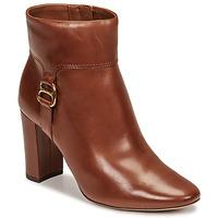 Cipők Női Bokacsizmák Lauren Ralph Lauren MCKAY Konyak