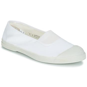 Cipők Női Balerina cipők / babák Bensimon TENNIS ELASTIQUE Fehér