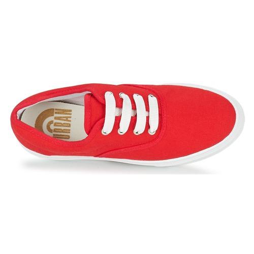 Yurban PLUO Piros - Ingyenes Kiszállítás  Cipők Rövid szárú edzőcipők Noi 9 927 Ft 5S6py