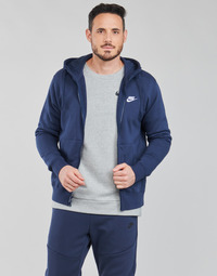 Ruhák Férfi Pulóverek Nike NIKE SPORTSWEAR CLUB FLEECE Kék / Tengerész / Fehér